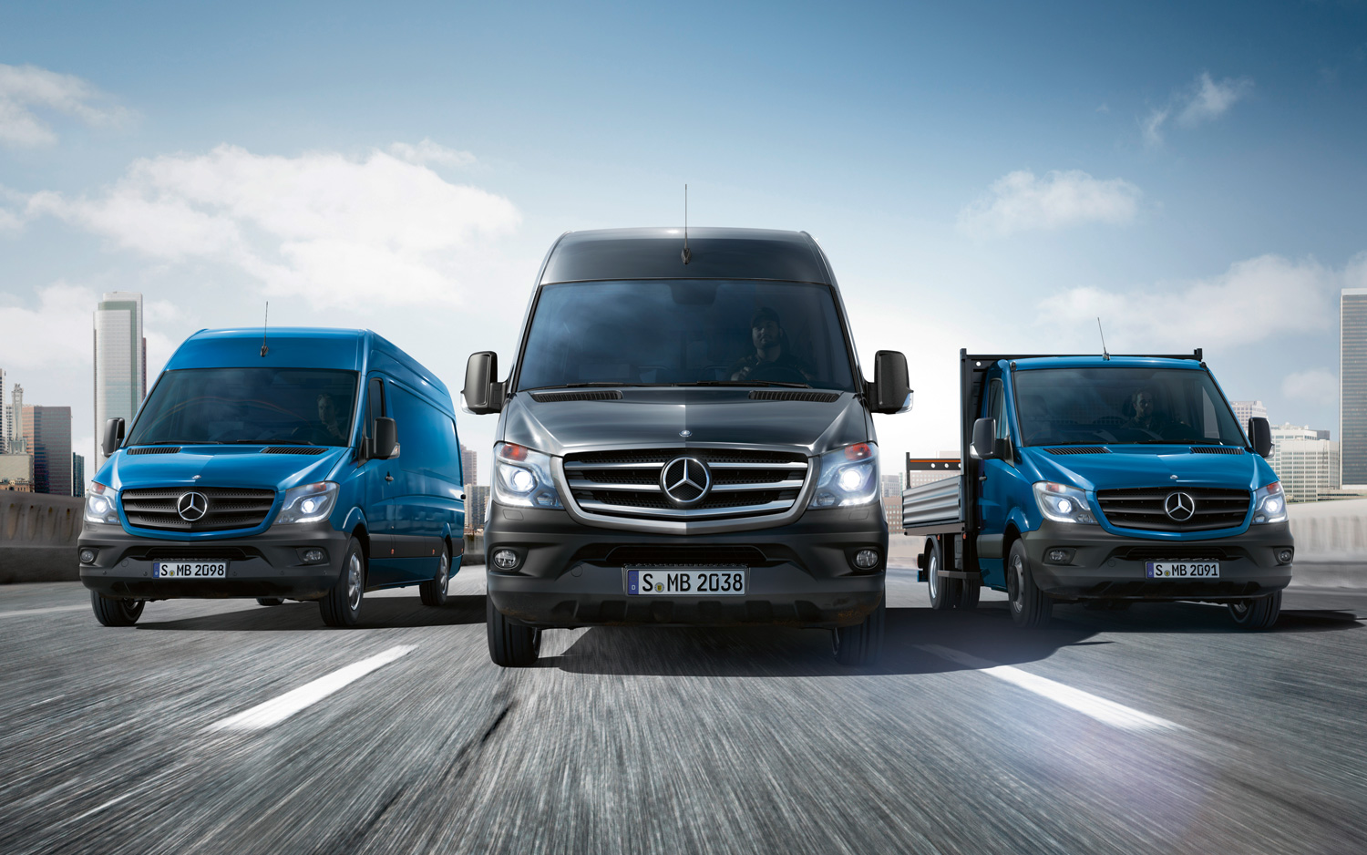 Mercedes-Benz Sprinter Модель 2014 года